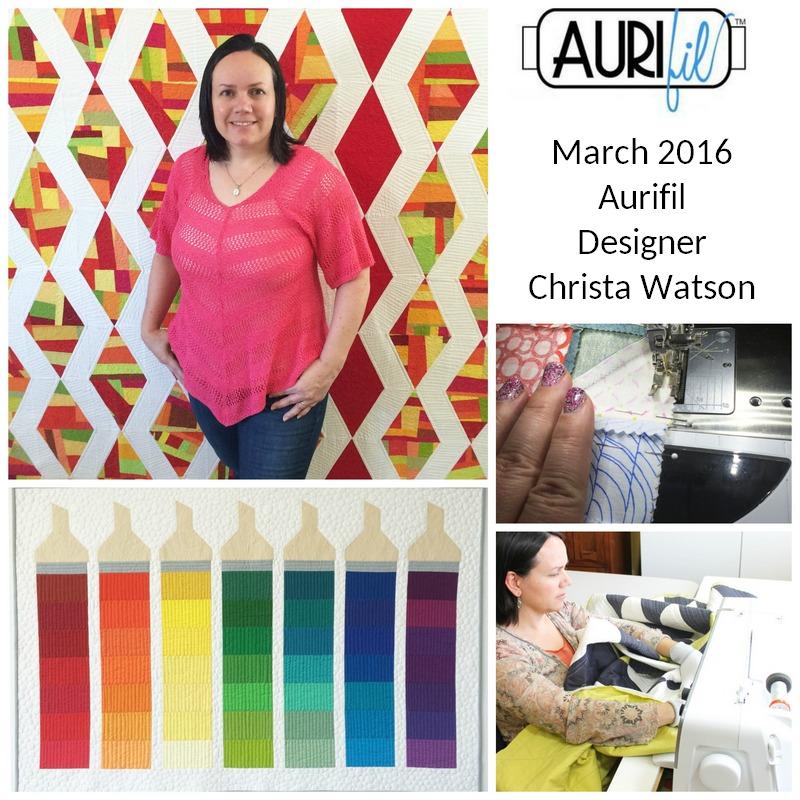 Aurifil 2016 March Designer of the Month Christa Watson