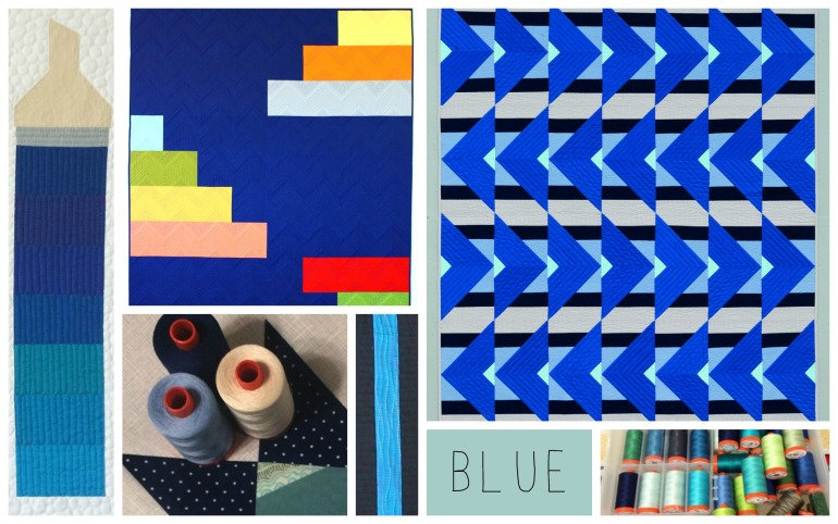 christa blue collage2