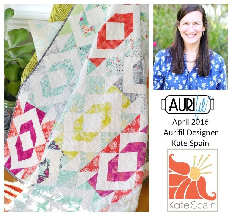 Aurifil 2016 Design Team April Kate Spain collage