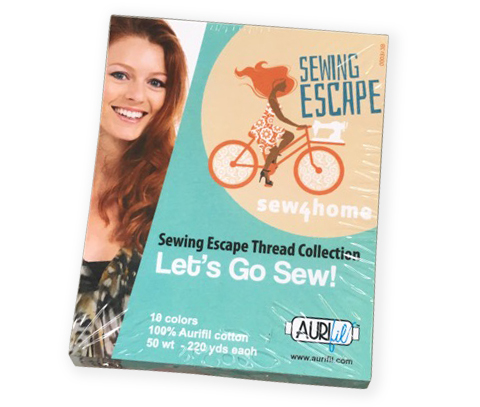Sew4Home Sewing Escape Thread Collection