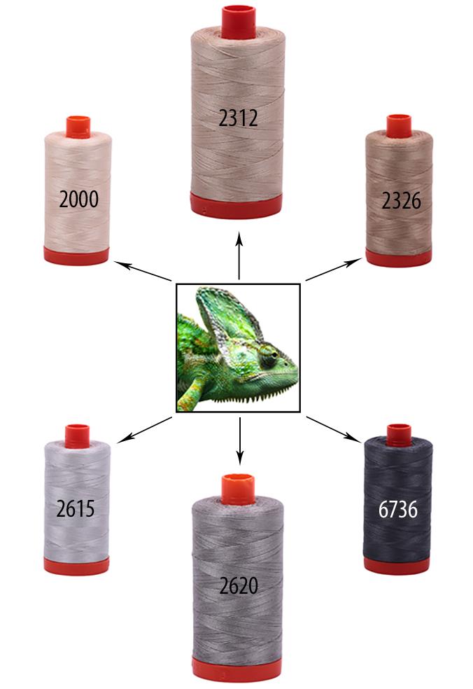 Aurifil-ChameleonColors