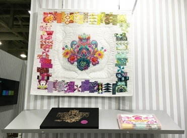 Thread Painting by Casey Taylor showcasing Tula Pink Threads
