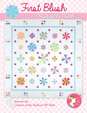 First Blush Block of the Month by It's Sew Emma
