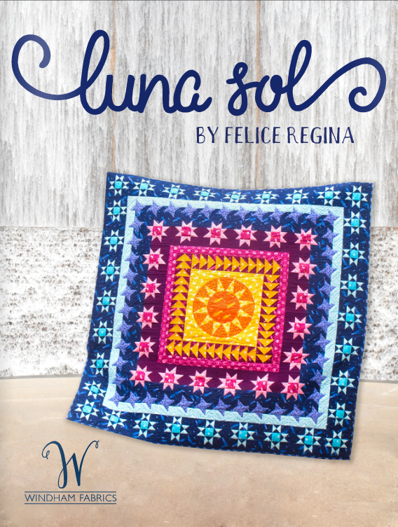 Luna Sol Lookbook, Windham Fabrics