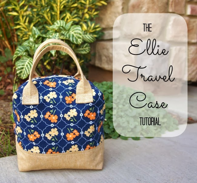 The Ellie Travel Case - Fabric Mutt