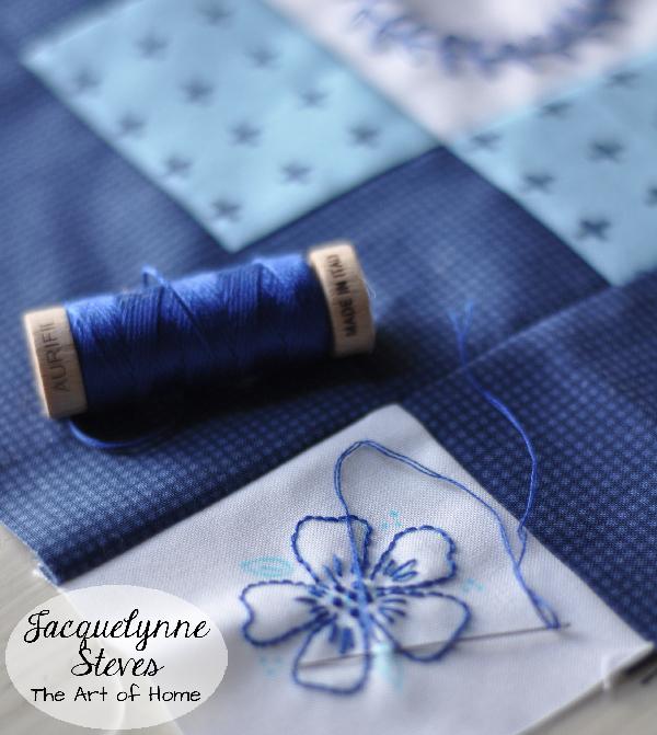 9b-Aurifil Embroidery Thread- Jacquelynne Steves