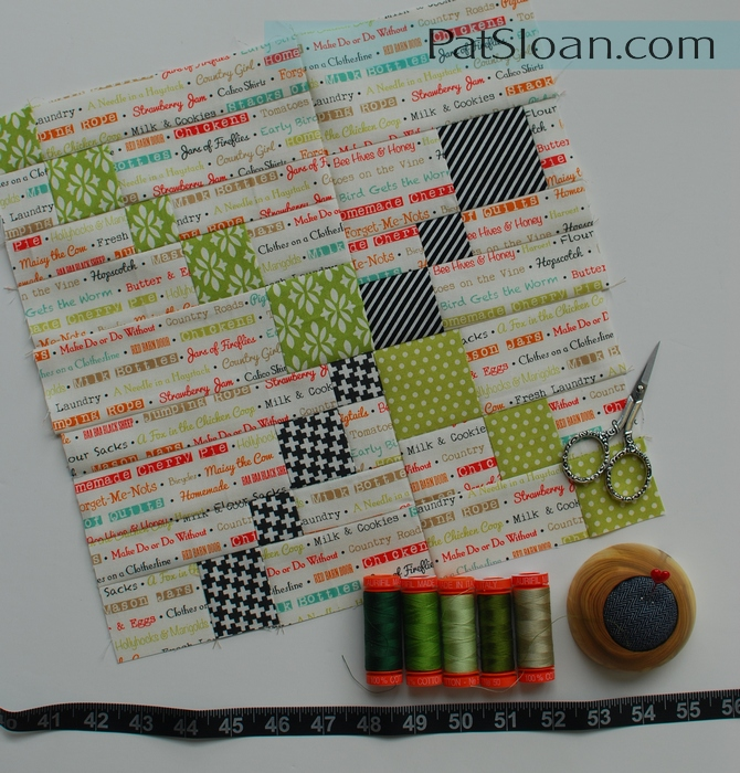 Pat Sloan July Aurifil Block