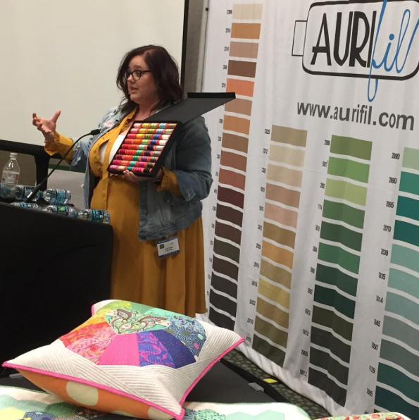 Tula's Spring 2016 Schoolhouse for The Ultimate Collection at International Quilt Market in Salt Lake City
