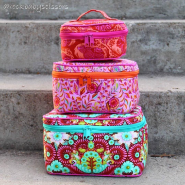 Train Cases by Kristy Sachs