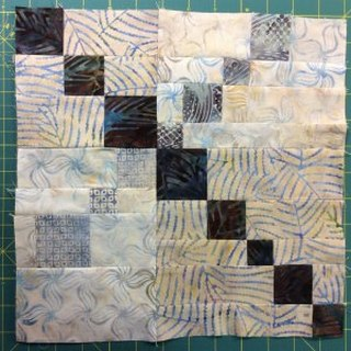 Aug Cathy scrappy block