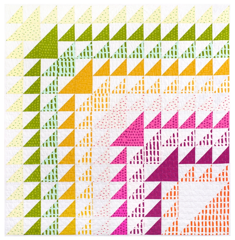 Dash Quilt in Color Dash