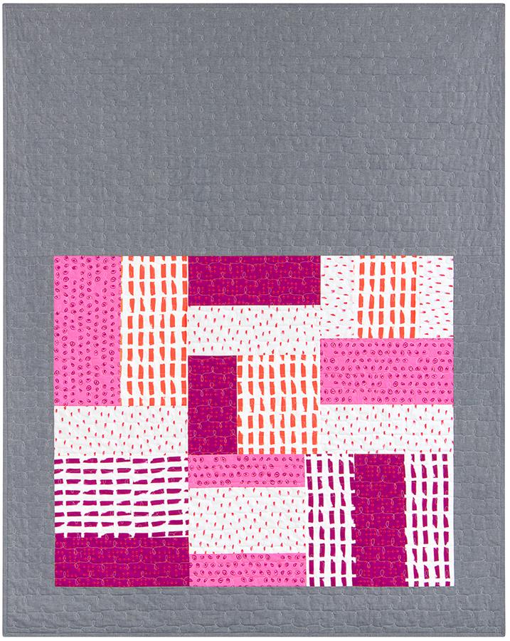 Make Your Mark quilt in Color Dash Sorbet