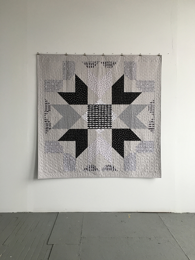 Marrakech Quilt in Shadow Color Dash