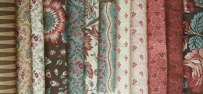 Moda fabric rowLO