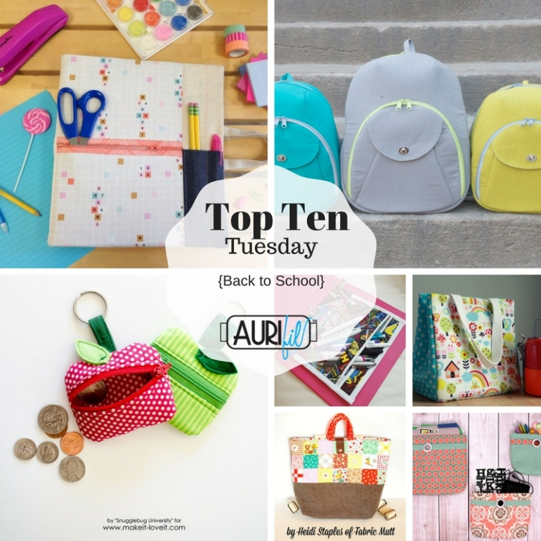 Top Ten Tuesday - Back to School
