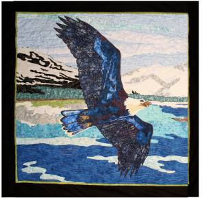 Eagle Over Alaska by Rob Appell