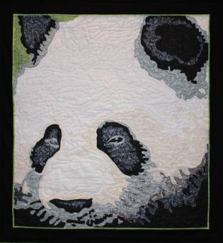 Giant Panda Quilt by Rob Appell
