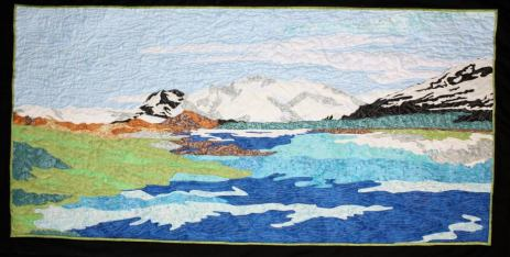 Landscape Quilt by Rob Appell