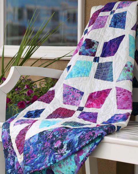 Butterfly Blossom Quilt, an MSQC tutorial