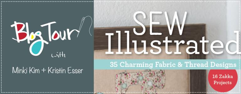 Sew Illustrated blog tour banner