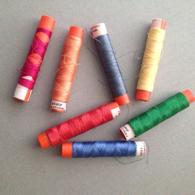 Barbara's Original Spools of Aurifil Thread