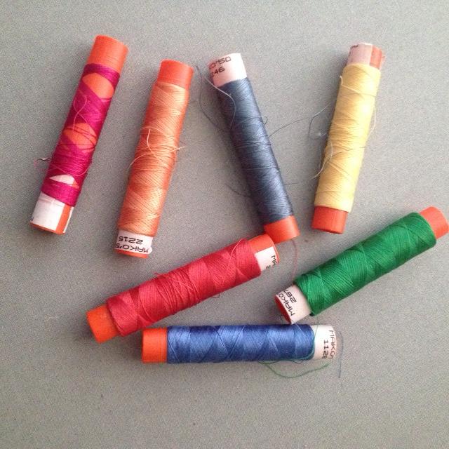 Barbara's Original Spools of Aurifil Thread