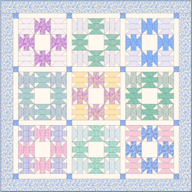 Ruby's Treasures Quilt - Click for Free Pattern