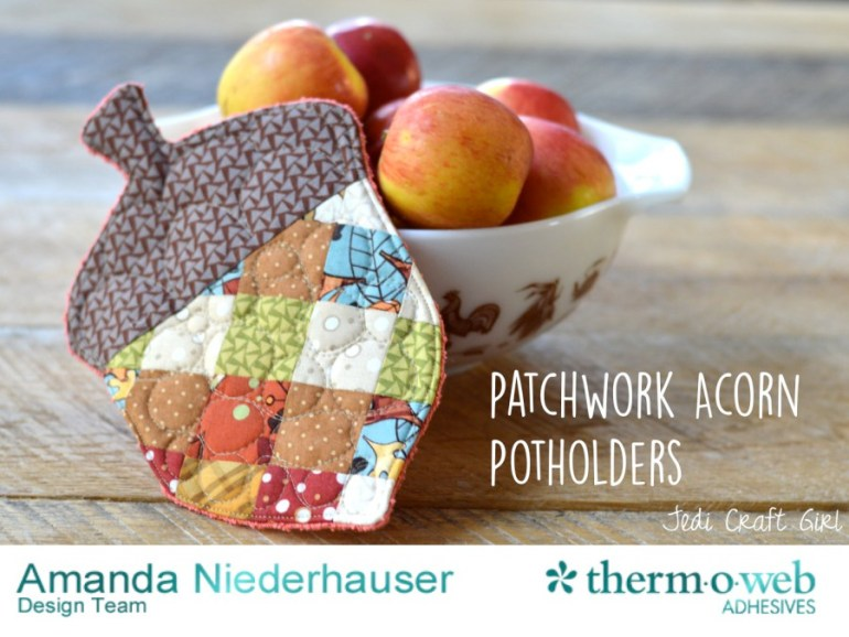 patchwork-acorn-potholders