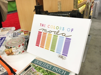 The Colors of MODA -- a brand new box!