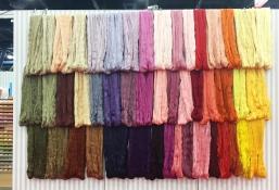Skeins of Aurifil thread