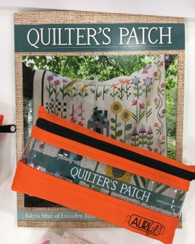 Quilter's Patch book and coordinating thread collection by Edyta Sitar in partner with Fat Quarter Shop
