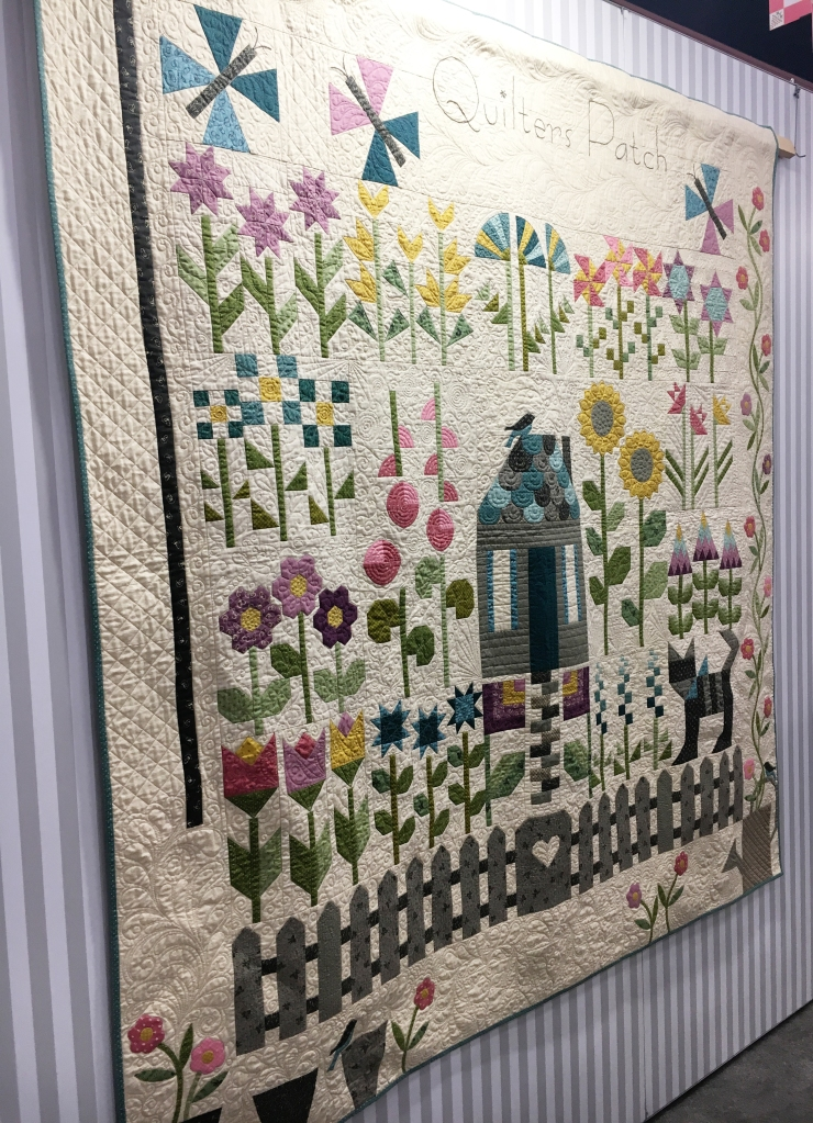 Quilter's Patch Quilt by Edyta Sitar of Laundry Basket Quilts
