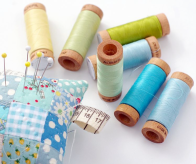 Aurifil Spools by Rita Hodge