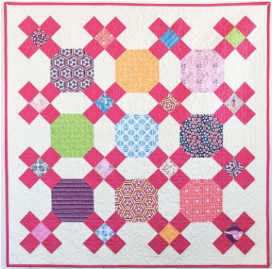 Small Moments Quilt by Sandra Clemons