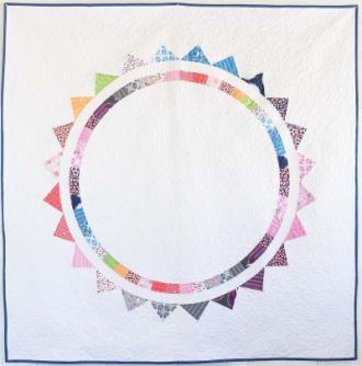 Sun Halo Quilt by Sandra Clemons