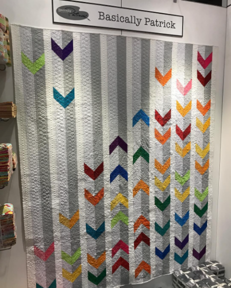 'Integration' by Patrick Lose, Quilting by Jessica Gamez.
