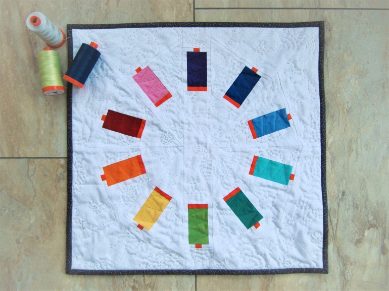 Sew Many Colors as sewn by Alex Fox