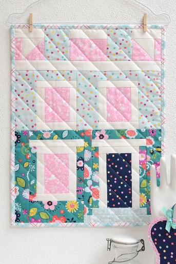 Notting Hill House Mini Quilt by Ellis & Higgs