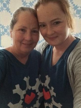 Kristi & her mom, Charlene