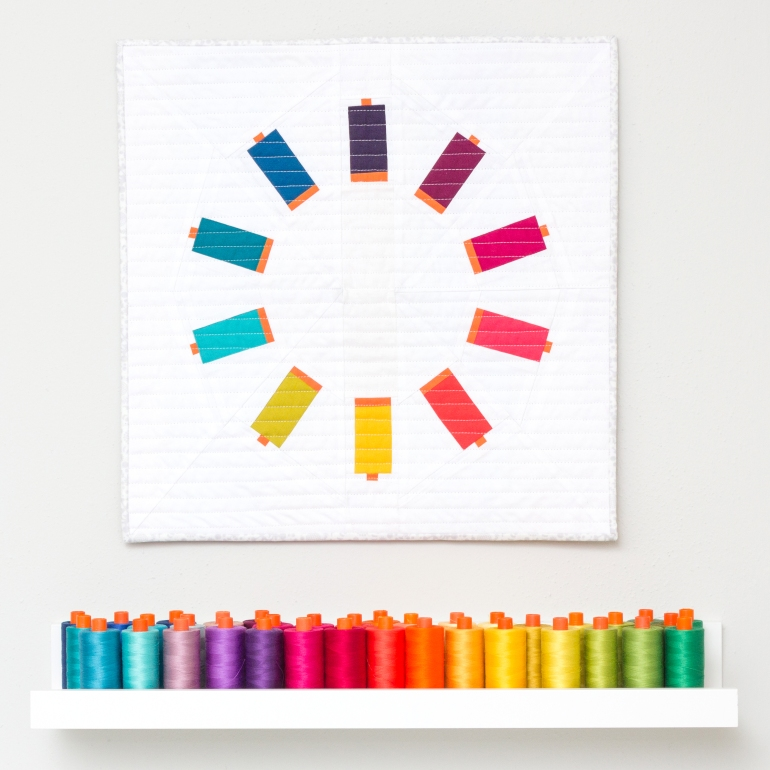 Sew Many Colors as sewn by Laura McDowell Hopper