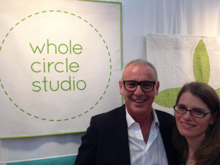 Sheri and Alex in the Whole Circle Studio Booth