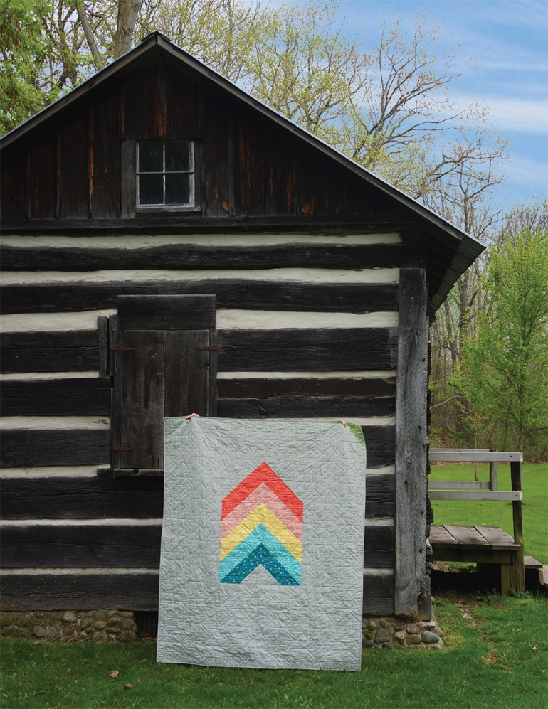 Chevron Quilt by Brenda Ratliff - Featured in the Fall 2016 edition of Modern Patchwork