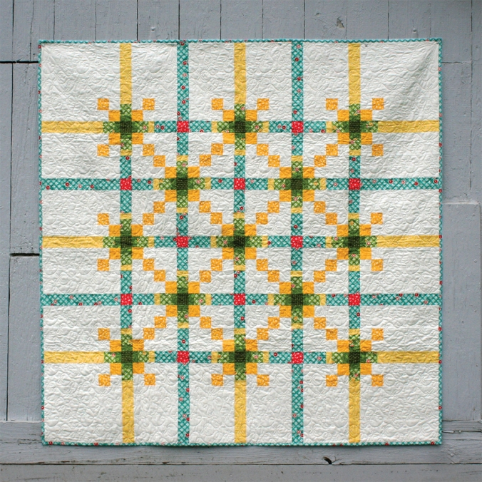 Gate Keeper Quilt by AnneMarie Chany