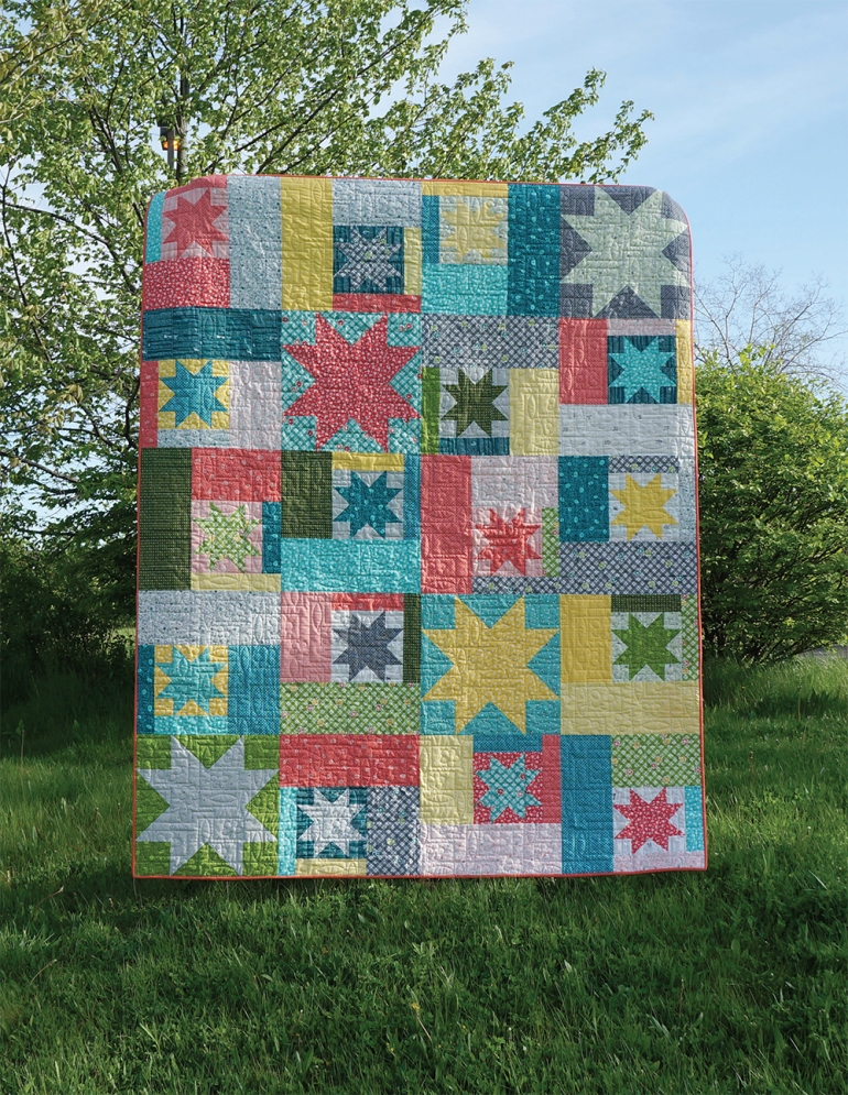 Sparkling Cider Quilt by All Washed Up Quilts