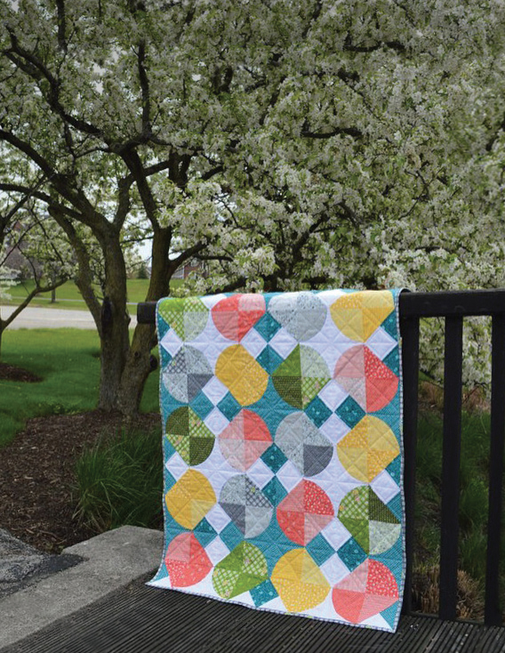 Tipsy Quilt by Sharon McConnell