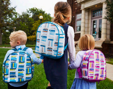 Toddler Backpacks by Rae Hoekstra made by Connie Combs