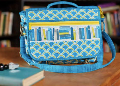MJ's Messenger Bag by Annie Unrein, Quilted by Cheryl Styler