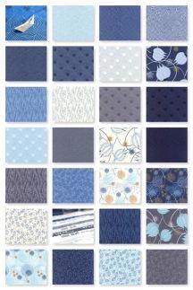 True Blue Collage