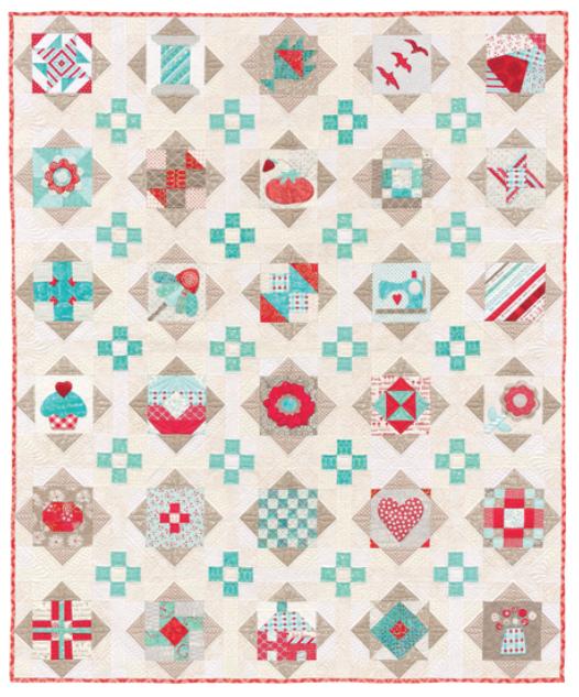 Showcase Quilt from The Splendid Sampler
