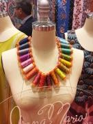 Thread necklace by Anna Maria Horner